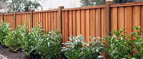 Fence Types Rons Post Holes - 5 backyard fence types